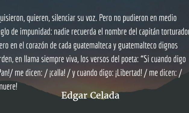Medio siglo de impunidad. Edgar Celada Q.