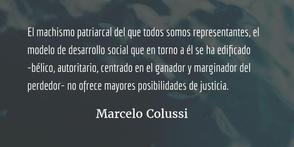 Equidad de género: un problema no sólo de mujeres. Marcelo Colussi.