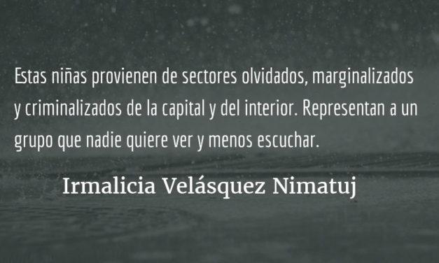 ¡Presidente renuncie! Irmalicia Velásquez Nimatuj