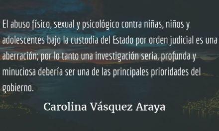 El fantasma de la justicia. Carolina Vásquez Araya.