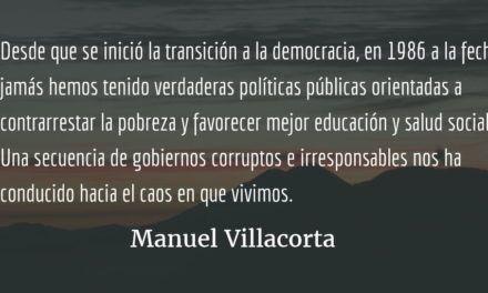 Mañana será demasiado tarde. Manuel Villacorta.