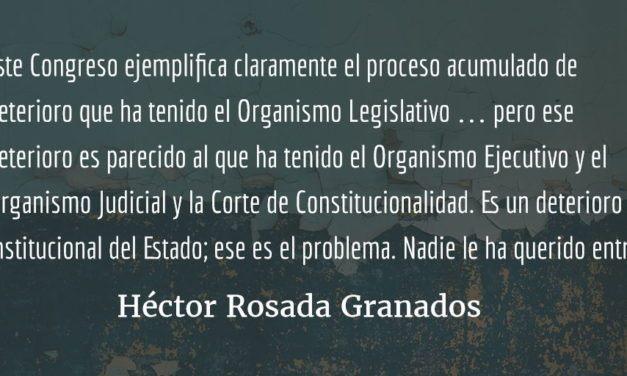 """""""…destitución violenta del Congreso"""". Irmalicia Velásquez Nimatuj."""