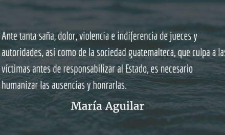 Las niñas de Guatemala. María Aguilar.
