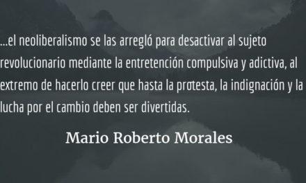 Formas políticas alternativas. Mario Roberto Morales.