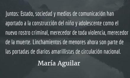 La niñez y la guerra, IV y final. María Aguilar.
