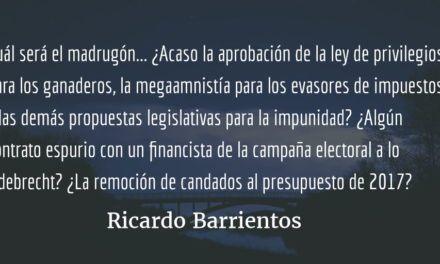 ¡Cuidado con los «madrugones» de Semana Santa! Ricardo Barrientos