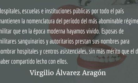 La memoria. Virgilio Álvarez Aragón.