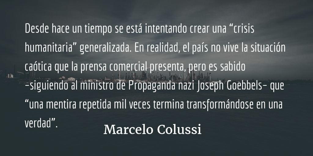 Venezuela y Estados Unidos: pulseada por el petróleo. Marcelo Colussi.