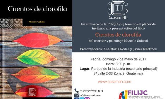 Presentación de Cuentos de clorofila, libro de Marcelo Colussi