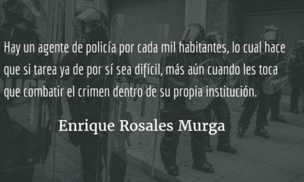 La Policía Nacional Civil, la guardia pretoriana de Guatemala. Enrique Rosales Murga.