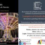 Presentación de Lumpen o el triunfo de Narciso, de Christian Echeverría