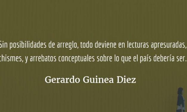 """""""Hay muchas esperanzas, pero ninguna para nosotros."""" Gerardo Guinea Diez"""