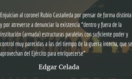 Tiene un defecto: puede pensar. Edgar Celada.