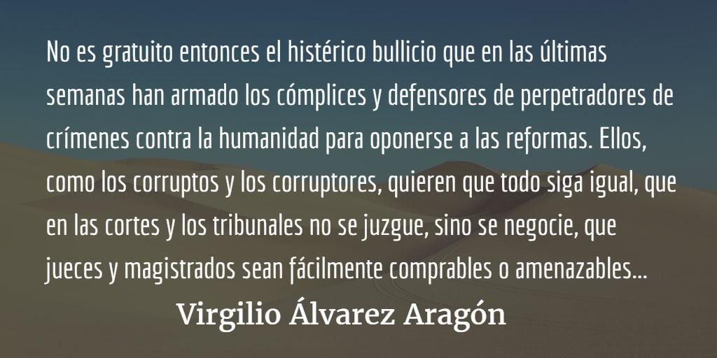 El silencio cómplice de la San Carlos. Virgilio Álvarez Aragón.