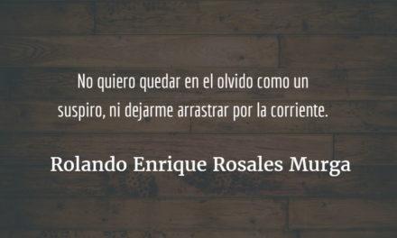 Fuerza interna. Rolando Enrique Rosales Murga.