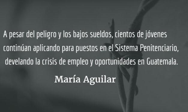 Crisis en el Sistema Penitenciario (II). María Aguilar.