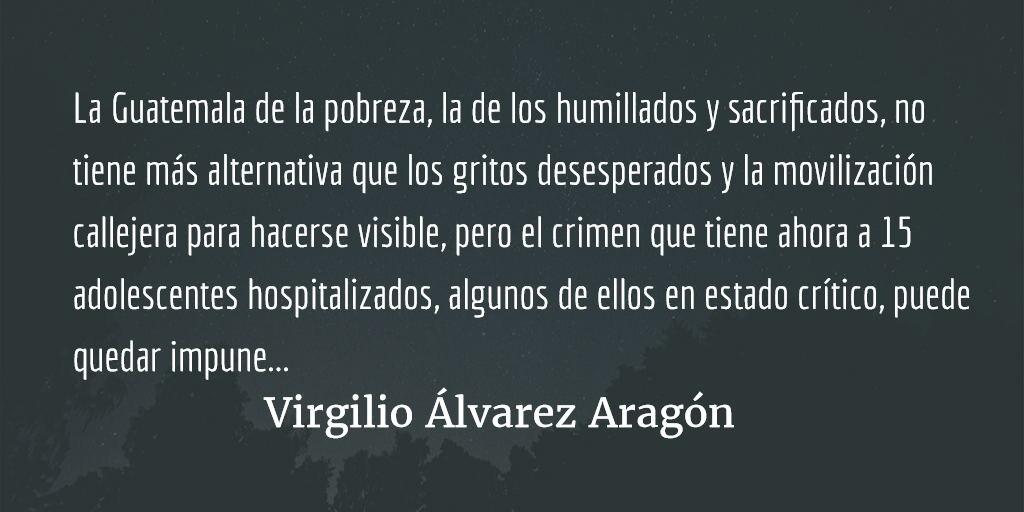 Un criminal llamado Guatemala. Virgilio Álvarez Aragón.