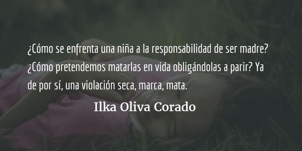 Madres a consecuencia de una violación. Ilka Oliva Corado.