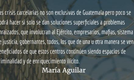 Sistema penitenciario III y final. María Aguilar.