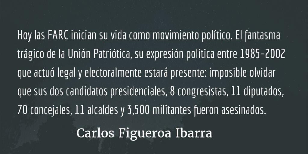 FARC: adiós a las armas. Carlos Figueroa Ibarra.