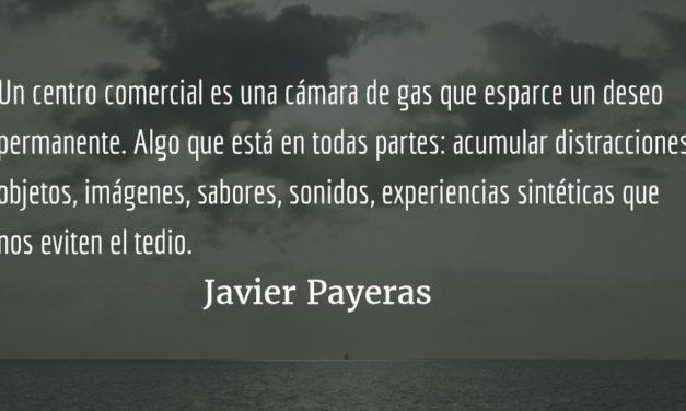 Detrás de los cristales. Javier Payeras.