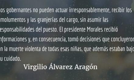 La justeza del juicio al presidente. Virgilio Álvarez Aragón.