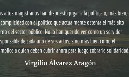 Impunidad «in limine». Virgilio Álvarez Aragón.