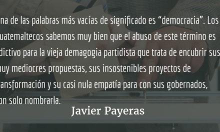 Síndrome del Polochic. Javier Payeras.