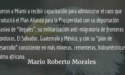 La historia no los absolverá. Mario Roberto Morales.