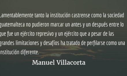 El ejército que la patria necesita. Manuel Villacorta.