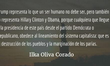 Los inmigrantes indocumentados en la administración Trump. Ilka Oliva Corado.
