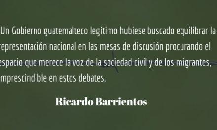 Gobierno lacayo de empresarios y del Norte. Ricardo Barrientos.