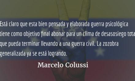 Venezuela: ¡no creer ni el 1% de lo que se dice!  Marcelo Colussi