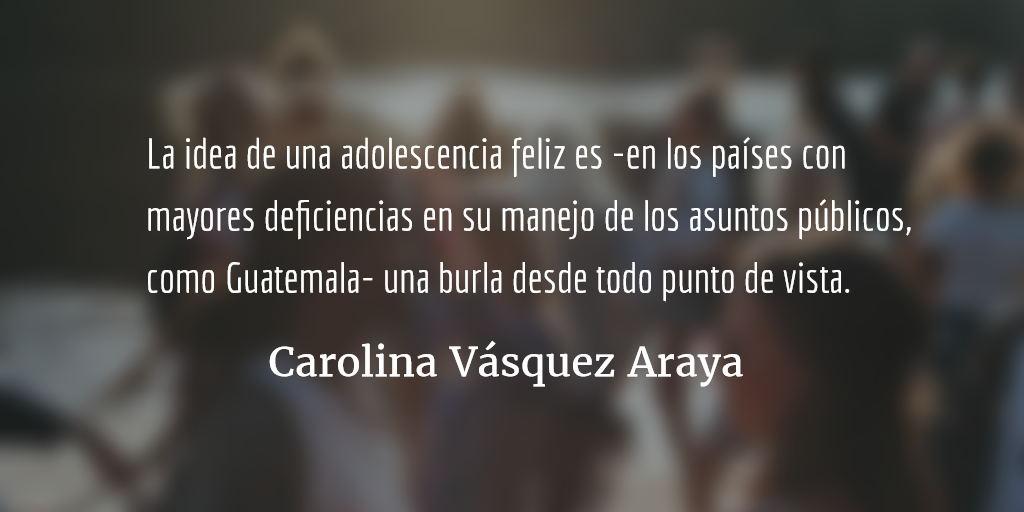 Como un salto en el vacío. Carolina Vásquez Araya.