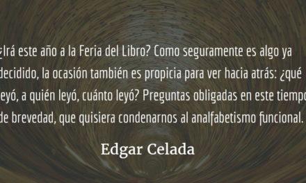 Ciclos calendáricos y punto aparte. Edgar Celada Q.