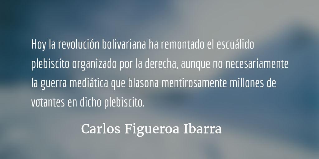 Venezuela, la hegemonía empieza por la comida. Carlos Figueroa Ibarra.