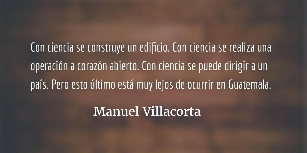 Nuestra única alternativa. Manuel Villacorta.
