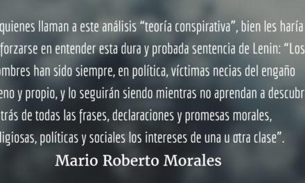 Interés de clase y propaganda. Mario Roberto Morales.