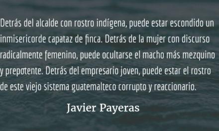 El paisaje del paisaje. Javier Payeras.