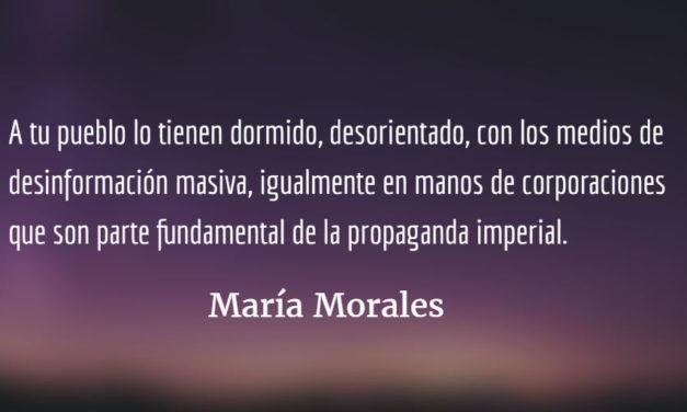 Latinoamérica en movimiento. María Morales.