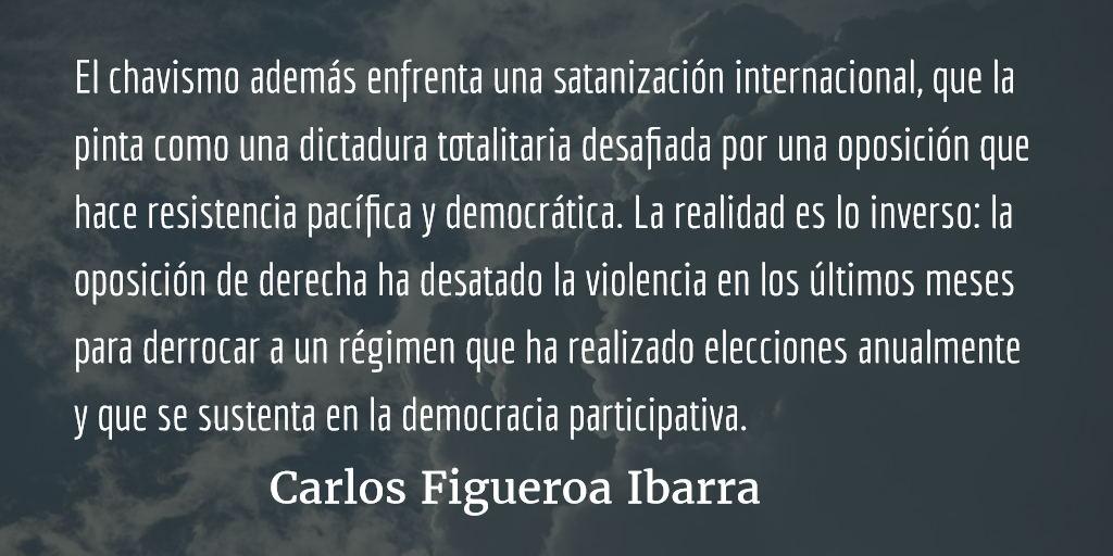 Venezuela, la disputa por la hegemonía. Carlos Figueroa Ibarra.