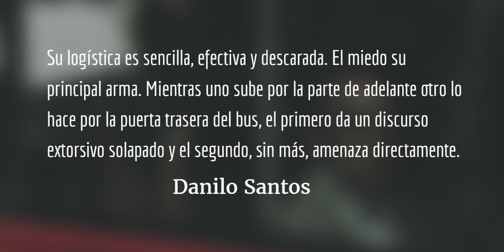 El bucle del olvido. Danilo Santos.