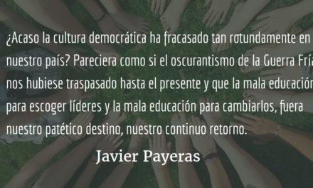 El eterno golpe. Javier Payeras.