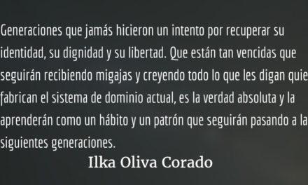 Generaciones vencidas. Ilka Oliva Corado.