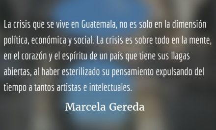 ¿Por qué negarle la cultura a La Antigua?  Marcela Gereda