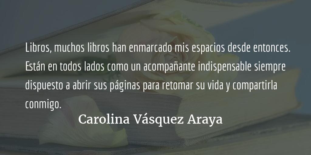 Otro libro, otra ventana. Carolina Vásquez Araya.