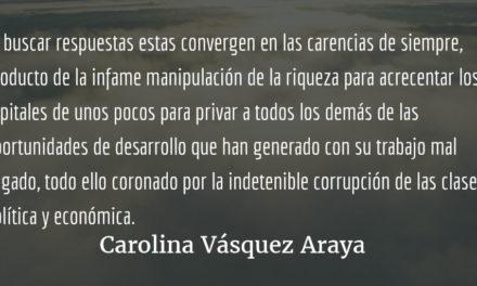 Las chicas malas del Hogar Seguro. Carolina Vásquez Araya.