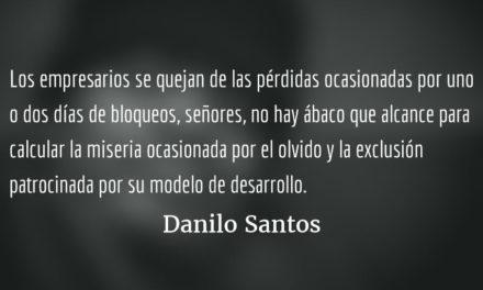 La voz del color de la tierra. Danilo Santos.