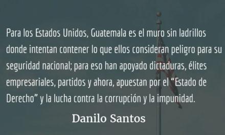 Gringo chapín…. Danilo Santos