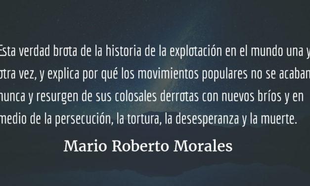 Acompañamiento a una canción. Mario Roberto Morales.